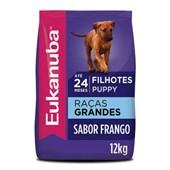 Ração Eukanuba para Cães Filhotes de Raças Grandes 12kg