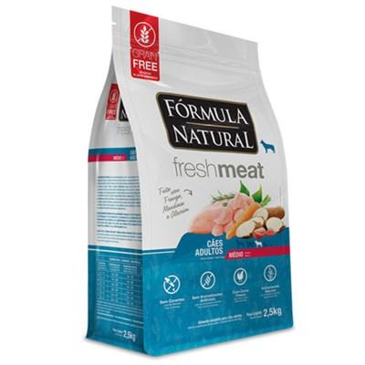 Ração Formula Natural Fresh Meat Cães Adultos Raças Médias