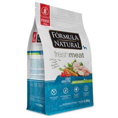 Ração Formula Natural Fresh Meat Cães Adultos Raças Mini e Pequenas