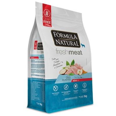 Ração Fórmula Natural Fresh Meat Cães Filhotes Raças Médias