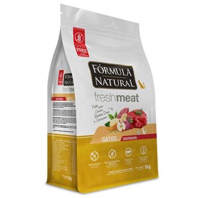 Ração Formula Natural Fresh Meat Gatos Castrados Carne