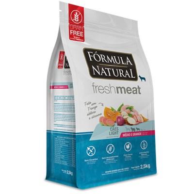 Ração Fórmula Natural Fresh Meat Light Raças Médias e Grandes