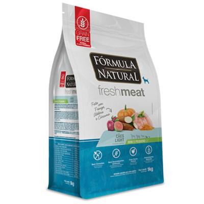 Ração Fórmula Natural Fresh Meat Light Raças Mini e Pequenas