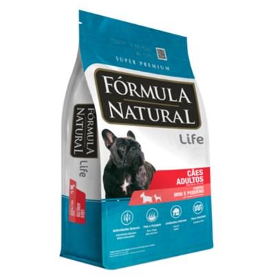 Ração Fórmula Natural Life para Cachorros Adultos Raças Mini e Pequena 7,0kg