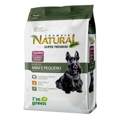 Ração Fórmula Natural Sensitive para Cães Adultos de Raças Pequenas 7kg