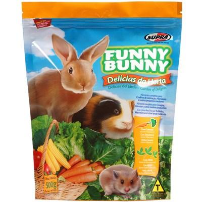 Ração Funny Bunny Delícias da Horta para Roedores 500gr