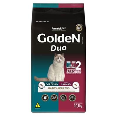 Ração GoldeN Formula Duo gatos adultos salmão & cordeiro 10,1kg