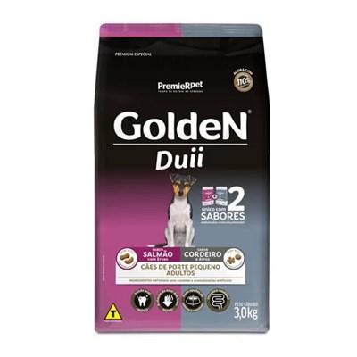 Ração GoldeN Formula Duo pequeno porte cachorros adultos salmão com ervas & cordeiro e arroz 3,0kg
