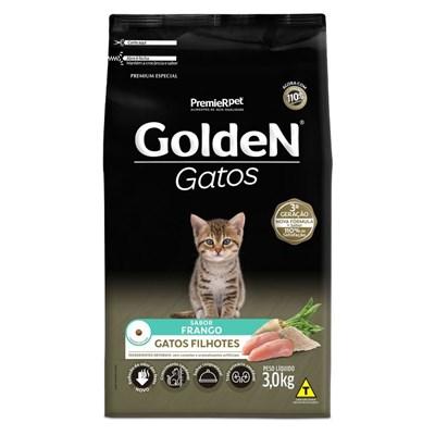 Ração GoldeN Formula gatos filhotes frango 3,0kg