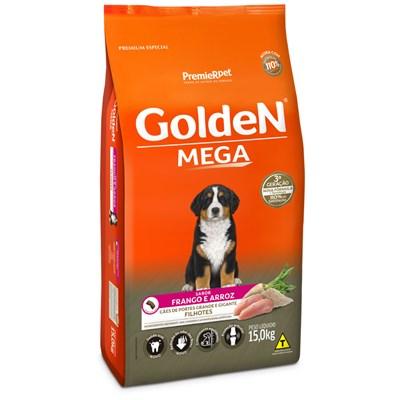 Ração GoldeN Mega cachorros filhotes 15,0kg