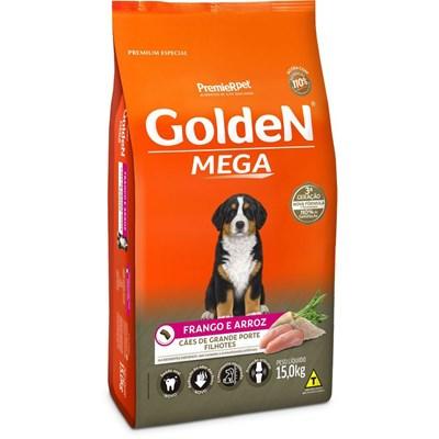Ração Golden Mega para Cães Filhotes 15kg