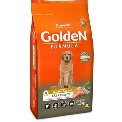 Ração Golden para Cães Adultos Salmão Arroz 15kg
