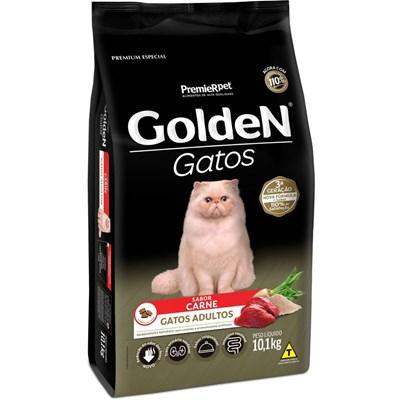 Ração GoldeN para gatos adultos carne 10,1kg