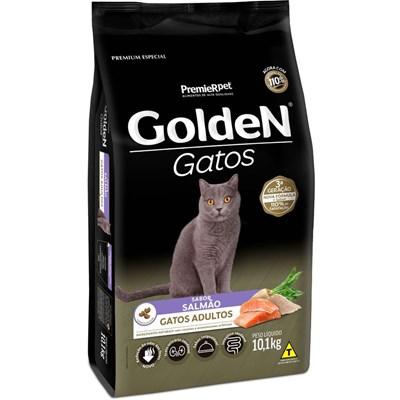 Ração Golden para Gatos Adultos Salmão 10,1 kg