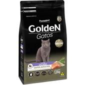 Ração Golden para Gatos Adultos Salmão 1kg