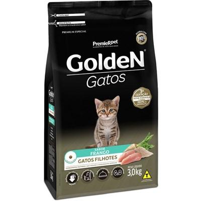 Ração Golden para Gatos Filhotes Frango 3kg