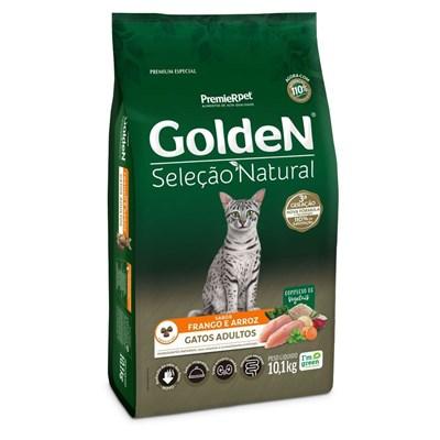 Ração Golden Seleção Natural para Gatos Adultos 10,1 kg