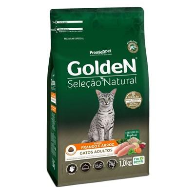 Ração Golden Seleção Natural para Gatos Adultos 1kg