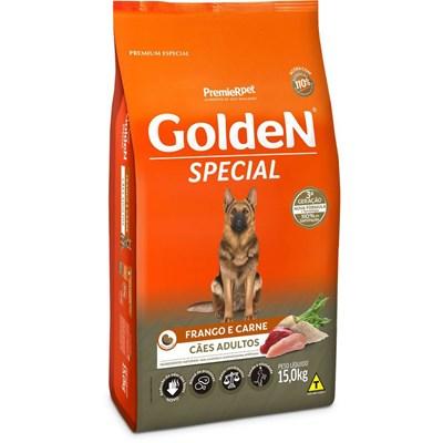 Ração Golden Special para Cães Adultos Frango  Carne 15kg