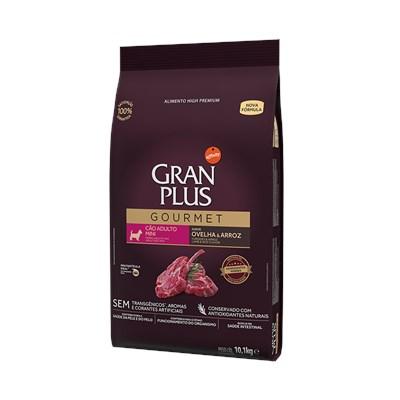 Ração Granplus Gourmet para Cães Adultos de Raças Pequenas Ovelha e Arroz 10 kg