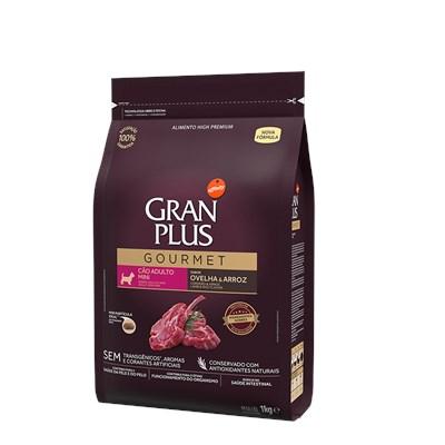 Ração Granplus Gourmet para Cães Adultos de Raças Pequenas Ovelha e Arroz 1kg