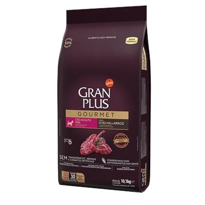 Ração Granplus Gourmet para Cães Adultos de Raças Pequenas Ovelha e Arroz Individual 10,1kg
