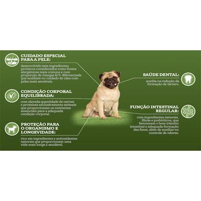 Ração Guabi Natural cachorro adulto sensitive mini, pequeno e médio salmão e aveia 2,5kg