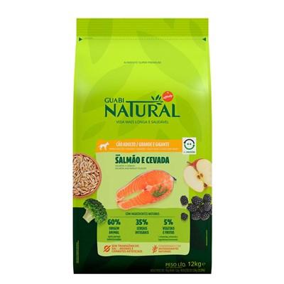 Ração Guabi Natural Sensitive cachorro adulto mini, pequeno e médio salmão e aveia 12,0kg
