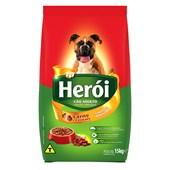 Ração Herói para Cães Adultos Carne e Cereais 15kg