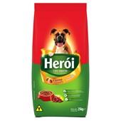 Ração Herói para Cães Adultos Carne e Cereais 25kg