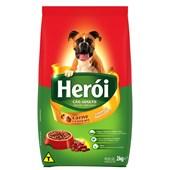 Ração Herói para Cães Adultos Carne e Cereais 2kg