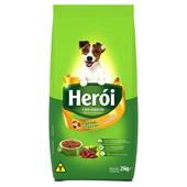 Ração Herói para Cães Adultos Carne e Vegetais 25kg