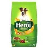 Ração Herói para Cães Adultos Carne e Vegetais 2kg