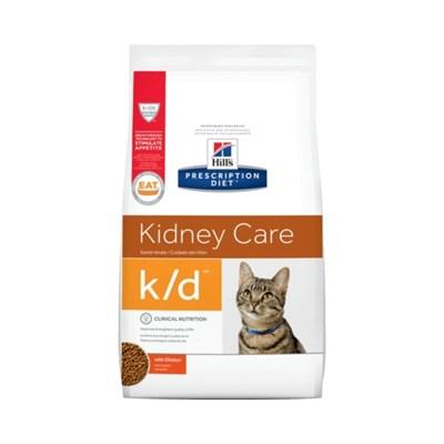 Ração Hills Prescription Diet K D para Gatos Adultos Cuidado Renal 1,8kg
