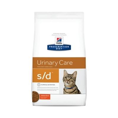 Ração Hills Prescription Diet S D para Gatos Adultos Cuidado Urinário 1,8kg