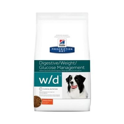 Ração Hills  Prescription Diet W D para Cães Adultos Controle de Peso 1,5 kg