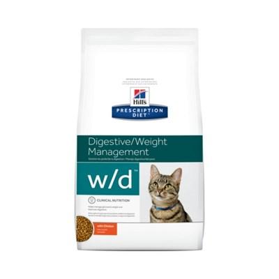 Ração Hills Prescription Diet W D para Gatos Adultos Controle de Peso 1,8kg