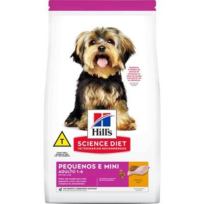 Ração Hill's Science Diet para cachorros adultos pequenos e mini 2,4kg