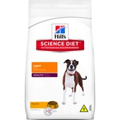 Ração Hills Science Diet para Cães Adultos Light 7,5 kg