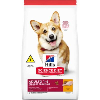 Ração Hills Science Diet para Cães Adultos Pedaços Pequenos 6kg