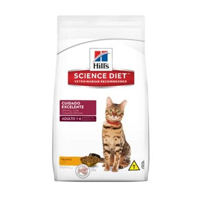 Ração Hills Science Diet para Gatos Adultos Cuidado Excelente 3kg