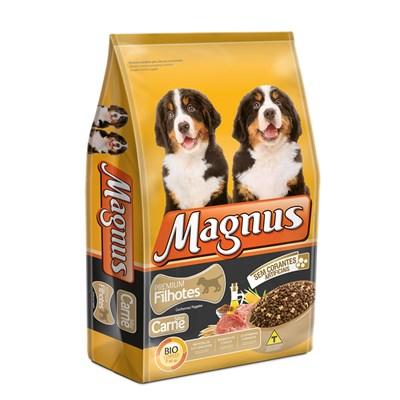Ração Magnus para Cães Filhotes Carne 1kg