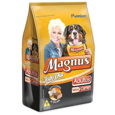 Ração Magnus Todo Dia para Cães Adultos Carne 25kg