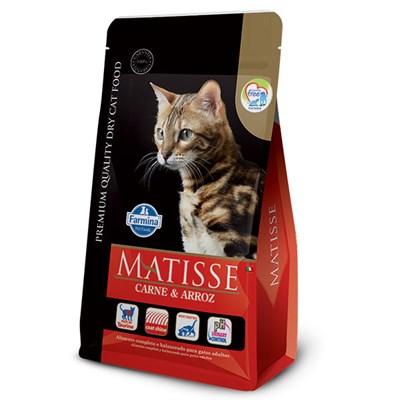 Ração Matisse para Gatos Adultos Carne e Arroz 800gr