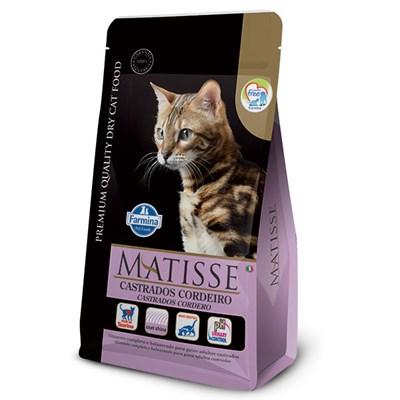 Ração Matisse para Gatos Adultos Castrados Cordeiro 2kg