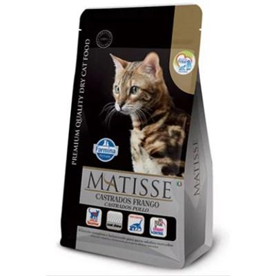 Ração Matisse para Gatos Adultos Castrados Frango 7,5 kg