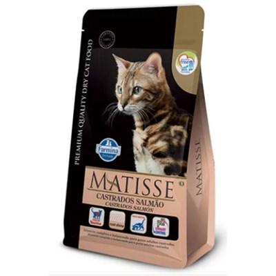 Ração Matisse para Gatos Adultos Castrados Salmão 7,5 kg