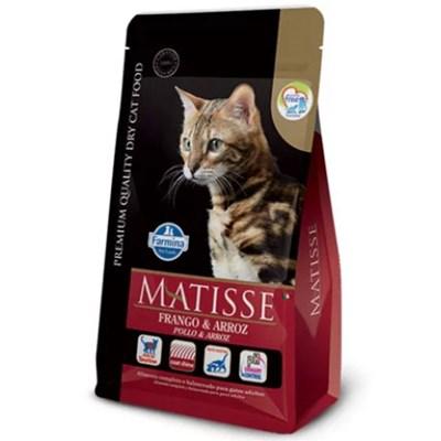 Ração Matisse para Gatos Adultos Frango e Arroz 7,5 kg