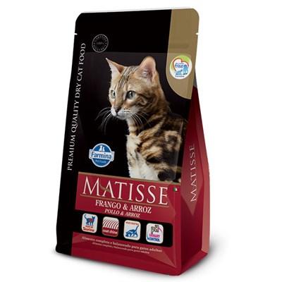 Ração Matisse para Gatos Adultos Frango e Arroz 800gr