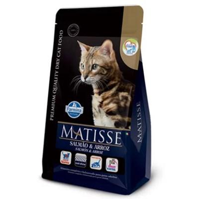Ração Matisse para Gatos Adultos Salmão e Arroz 7,5 kg